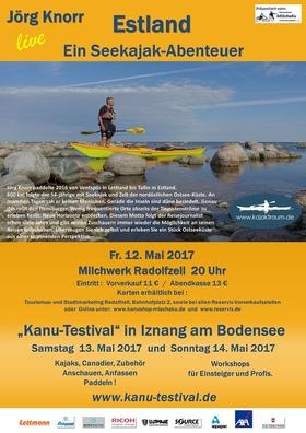 Bild: Estland, ein Seekajak-Abenteuer - Jörg Knorr berichtet im Rahmen des Kanu-Testival live über seine 600 km lange Reise an der Küste Estlands.