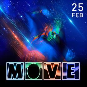 Bild: MOVE - with Alex Bau, Flug, Dirty Basscore, Nastia Reigel & Vloyd