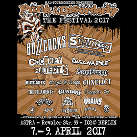 PUNK & DISORDERLY FESTIVAL 2017 - Tagesticket