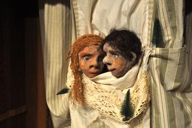 Bild: T-Werk zeigt: Hänsel & Gretel - Märchenspiel mit Masken und Puppen frei nach den Brüdern Grimm