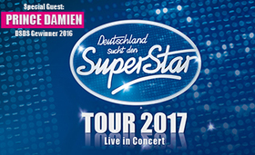 Bild: Deutschland sucht den Superstar - Live in Concert - Special Guest: Prince Damien - Deutschland sucht den Superstar 2017 Top 10 Live-Tour