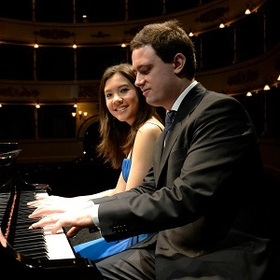 Bild: Stephanie Trick & Paolo Alderighi - Classic Jazzpiano for four Hands