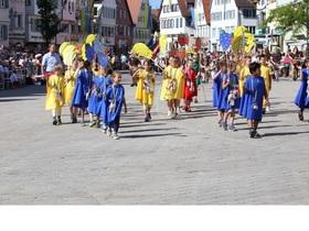 Bild: Bunter Festzug - Schützenfest 2017