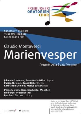 Bild: Claudio Monteverdi, Marienvesper - Vespro della Beata Vergine