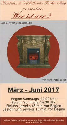 Bild: Wer ist wer? - eine Verwechslungskomödie von Hans-Peter Zeller