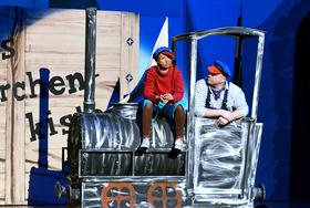 Bild: Jim Knopf und Lukas der Lokomotivführer - Theaterhaus Stuttgart
