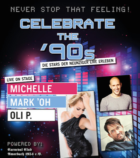 Bild: Celebrate the 90s - Michelle, Oli P, Mark`Oh
