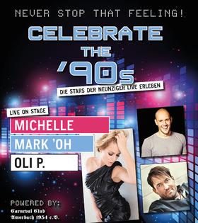 Bild: Celebrate the 90s - Michelle, Oli P, Mark`Oh
