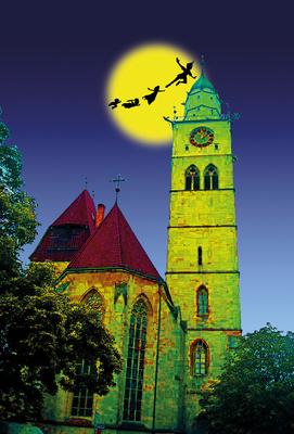 Bild: Musical: Peter Pan – Das Nimmerlandmusical // Jugendkantorei Überlingen - Premiere