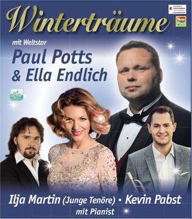 Bild: Gala-Konzert - mit Paul Potts & Ella Endlich - Klassik / Pop mit Paul Potts, Ella Endlich, Ilja Martin (Junge Tenöre), Kevin Pabst