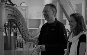 """Bild: """"Sopran trifft Harfe"""" eine musikalische Präsentation mit Bianca Richter und Ralf Kleemann"""