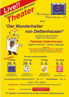 Bild: Der Wunderheiler von Dettenhausen - Komödie in zwei Akten von Bernd Kietzke