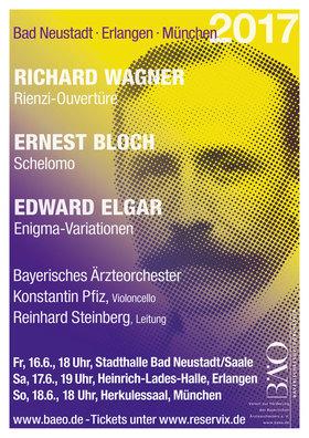 Bild: Wagner - Bloch - Elgar - Symphoniekonzert mit dem Bayerischen Ärzteorchester