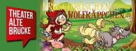 Bild: Froschröschen & Wolfkäppchen - Kindertheaterstück von Christine Fink