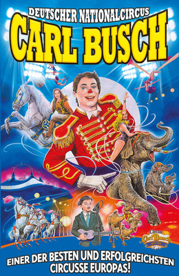 Bild: Circus Carl Busch - Crailsheim - Circus Carl Busch in Crailsheim - FAMILIENTAG