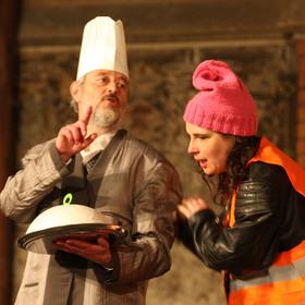 Bild: Der Widerspenstigen Zähmung - Komödie von P. Dehler nach Shakespeare