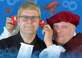 """Bild: Duo Camillo – """"Luther bei die Fische"""" - Begnadetes Musikkabarett"""