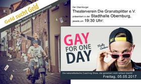 Bild: Malte Anders in GAY FOR ONE DAY - Die kabarettistische Coaching-Show, die garantiert nicht schwul macht!
