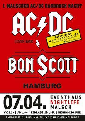 Bild: 1.Malscher Hardrocknacht - BON SCOTT-Hamburg plus special Guest