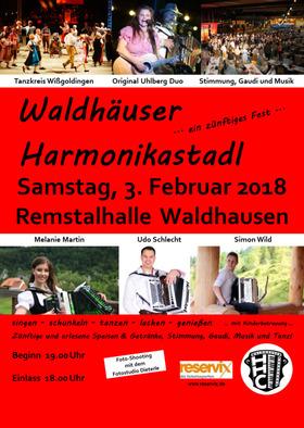 Bild: Waldhäuser Harmonikastadl - ein zünftiges Fest