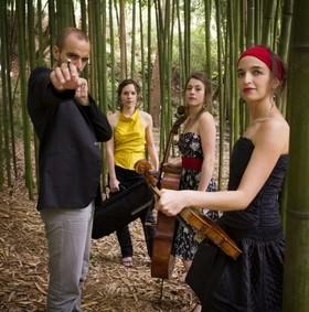 Bild: Quatuor Voce - unerHÖRT!