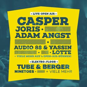 Bild: Campus Festival Bielefeld 2017 - mit Casper, Joris, Adam Angst, Audio 88 & Yassin, Lotte, ITCHY,  Leoniden, The Lytics, Manual Kant, Krawehl, Stiftberg & Meiwe