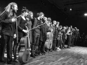 Bild: #freeschubert - Improvising with Schubert - STEGREIF.orchester