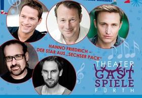Bild: Männerparadies - Theatergastspiele Fürth