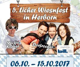 Bild: 5. Licher Wiesnfest Herborn - Wiesn-Partynacht mit voXXclub, Mickie Krause, Trenkwalder