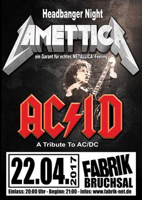 Bild: AC/ID und LAMETTICA - Headbanger Night