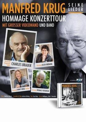 Bild: Eine Hommage an Manfred Krug - Seine Lieder - Moderation Charles Brauer