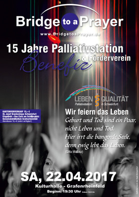 Bild: Bridge to a Prayer Benefizkonzert - 15 Jahre Palliativstation