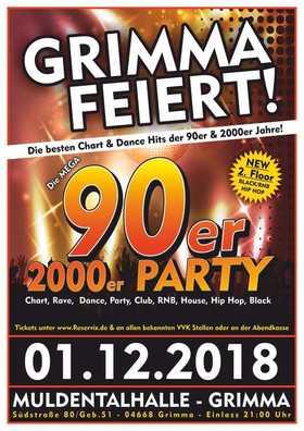 Bild: Grimma feiert - Die Mega 90er & 2000er Party