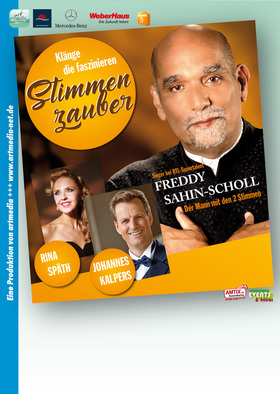 Bild: Stimmenzauber mit Freddy Sahin-Scholl & Johannes Kalpers