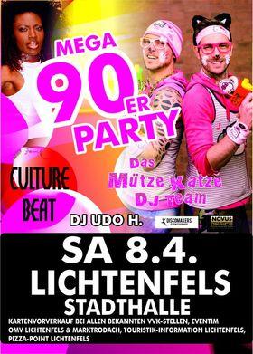 Bild: DIE MEGA 90ER PARTY - Culture Beat & Das Mütze Katze DJ-Team
