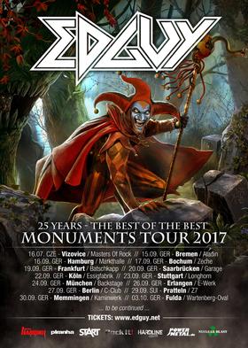 Bild: Edguy - MONUMENTS TOUR 2017
