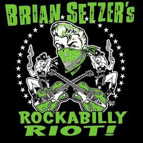 BRIAN SETZER´S ROCKABILLY RIOT! - Live 2017