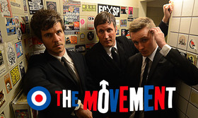 Bild: THE MOVEMENT - Power Pop Mod Rock Kultband auf Tour - Working Class Power Pop Mod Rock Trio