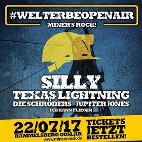 Bild: Miner´s Rock Open Air - Silly, Texas Lightning, Die Schröders, Jupiter Jones, Ich kann fliegen