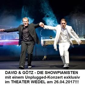 Bild: David & Götz - Die Showpianisten