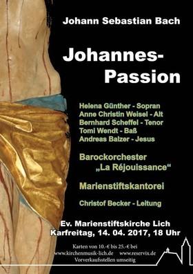 Bild: Johannes-Passion