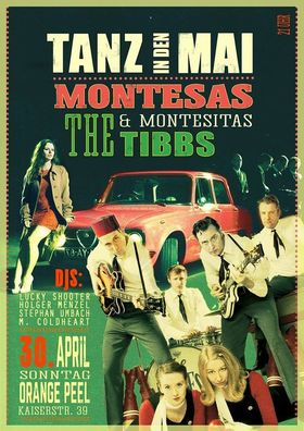 Bild: Tanz in den Mai - Live: Die Montesas + Die Montesitas & The Tibbs (Amsterdam)
