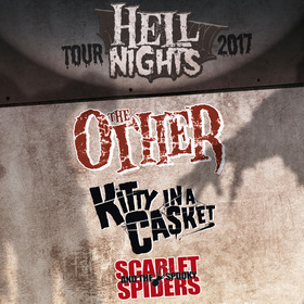 Bild: Hell Nights Tour 2017 - The Other, Kitty in a Casket, Scarlet & the Spooky Spiders