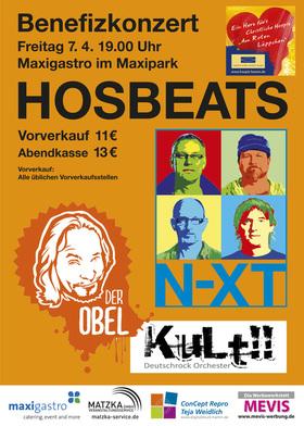 Bild: HOSBEATS - Benefizkonzert mit N-XT und Der Obel