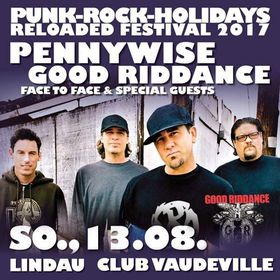 Bild: PUNK-ROCK-HOLIDAYS RELOADED FESTIVAL 2017 - Pennywise, Good Riddance, Face To Face, Special Guests