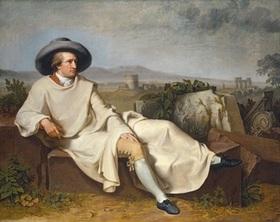 Bild: Theater an der Disharmonie - ein Gespräch i. Hause Stein über den abwesenden Herrn v. Goethe