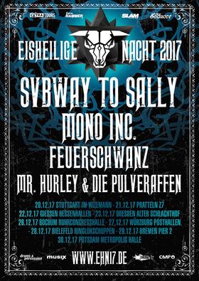 Bild: Eisheilige Nacht - Subway To Sally, Mono Inc., Feuerschwanz, Mr. Hurley & die Pulveraffen