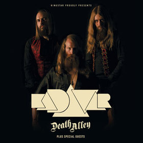 Bild: Kadavar + Mantar + Death Alley