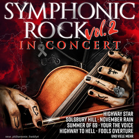 Bild: SYMPHONIC ROCK in Concert - Neue Philharmonie Frankfurt - Rockband - Solisten