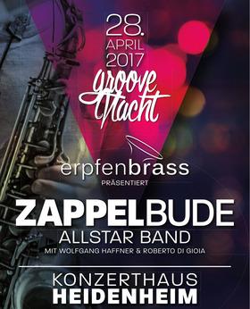 Bild: Groovenacht mit ZAPPELBUDE und erpfenbrass
